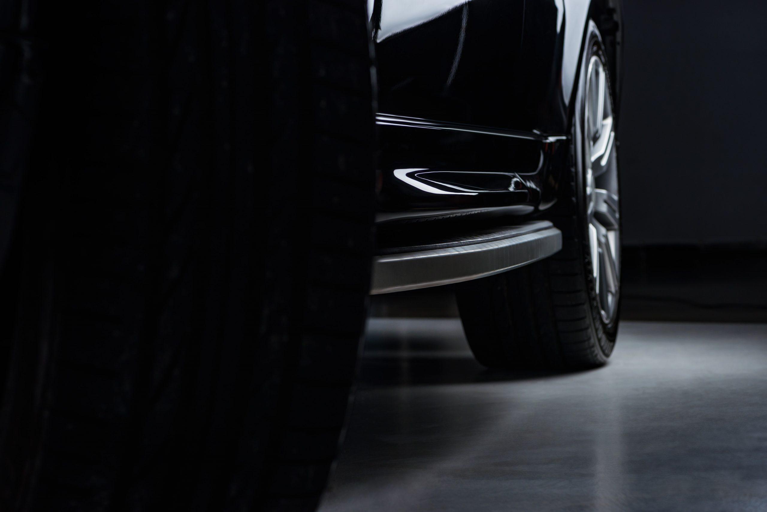 Black Car Wheel